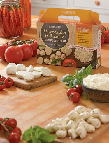 Mozzarella and Ricotta Homemade Cheese Kit