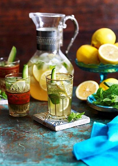 Пунш с мятой и лимоном  http://www.flavor.ua/punsh-s-myatoy-i-limonom/