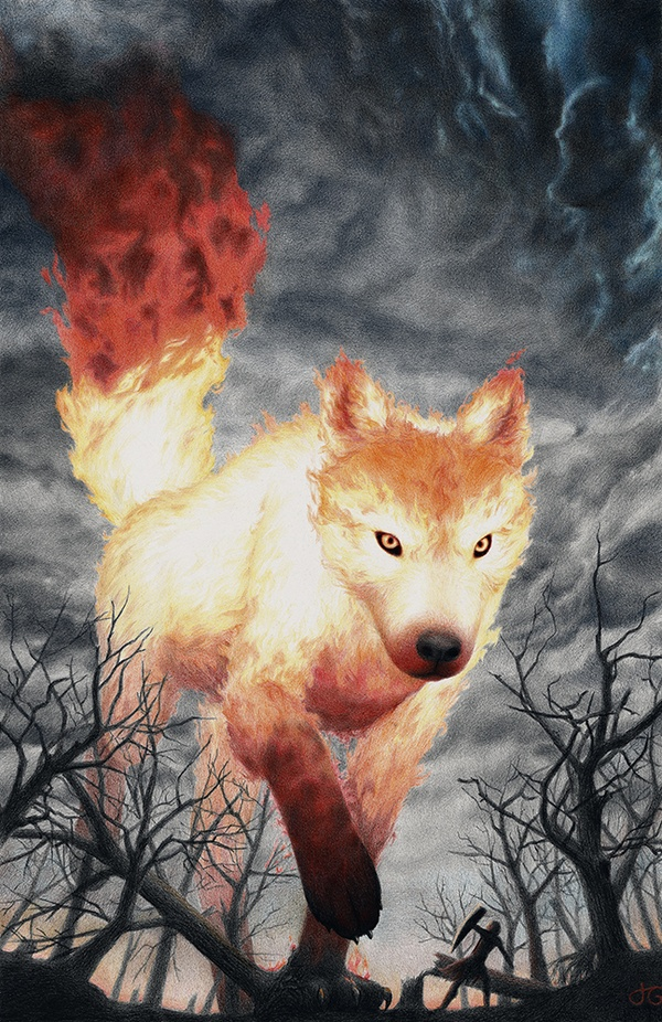 Fenrir. Wow, that's awesome...