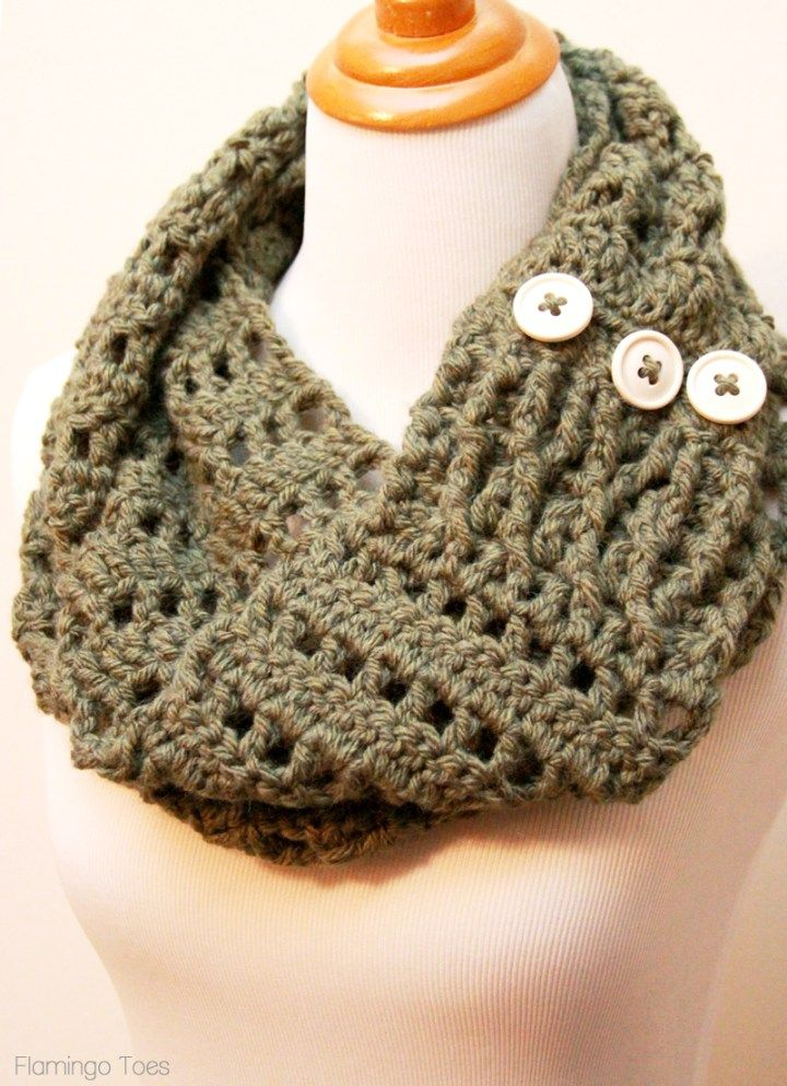 Crochet Infinity Scarf Pattern With Chunky Yarn ~ Pakbit for .
