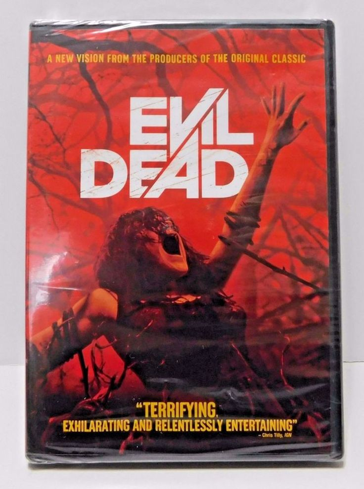 Evil Dead Horror  DVD Special Features Wide Screen Rated R New Factory Sealed