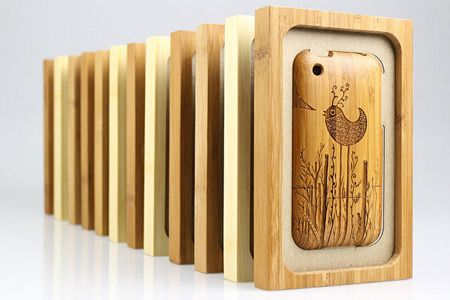 iPhone 3G/3GS bamboo cases