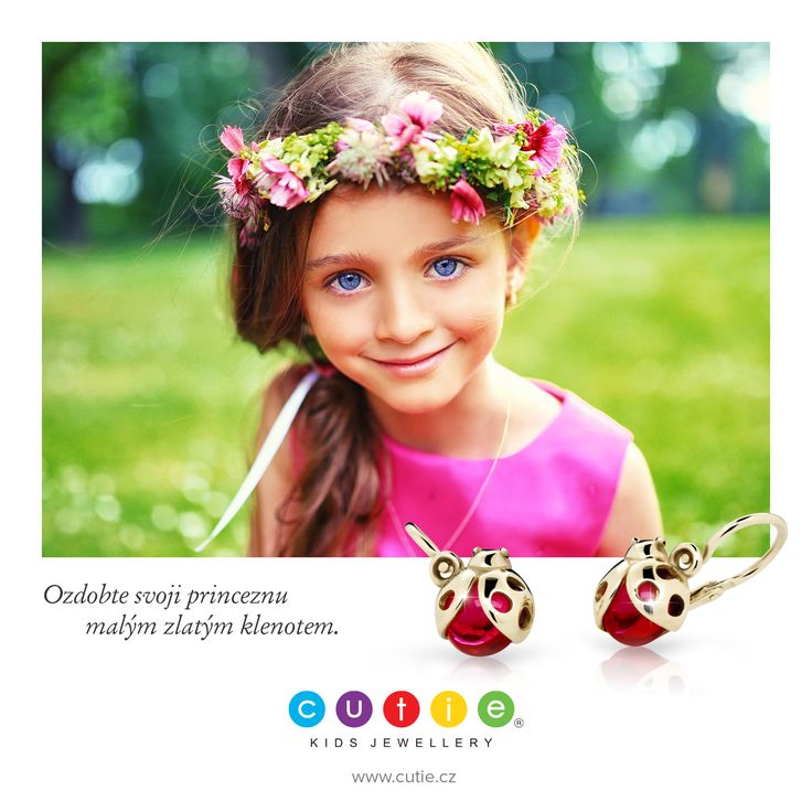 Kids earrings Cutie www.cutie.cz