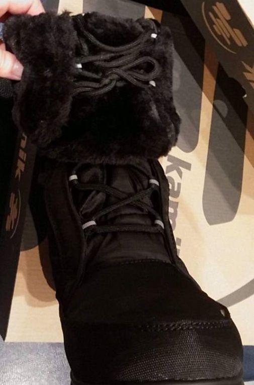 BAPTISTE Kamik Winter boots folded down