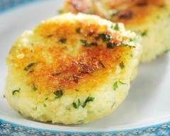 Une recette très sympa, sans la cuisson vapeur de 2H ;o) #Boulettes de #semoule aux herbes