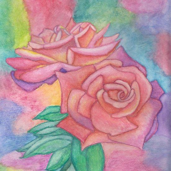 Pink & Mauve Roses