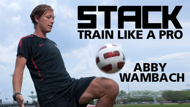 Develop more power for your soccer game with this workout from Abby Wambach.