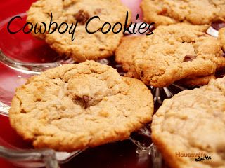 Housewife Eclectic: Cowboy Cookies- My favorite cookie recipe