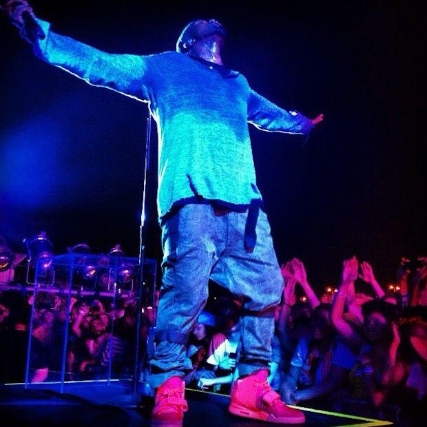 Kanye West Debuts 'Yeezus' Songs In NYC