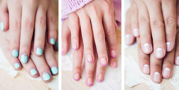 Idée nail art été 2015 – couleurs pastel, motifs géométriques et tribaux
