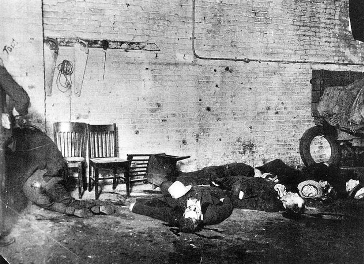 valentine's day massacre in chicago