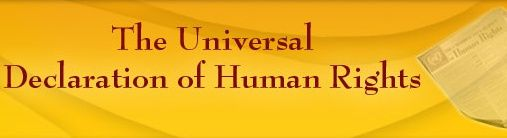 THE PEACE LINE: Universal Declaration of Human Rights: Article 21~...