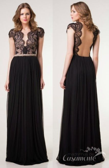 El encaje es algo que no podemos dejar pasar en nuestros vestidos. #Sexy #Elegante