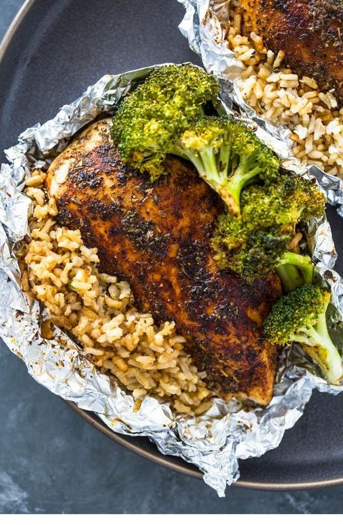 Rice with chicken and broccoli   – 1 Dish Wonders