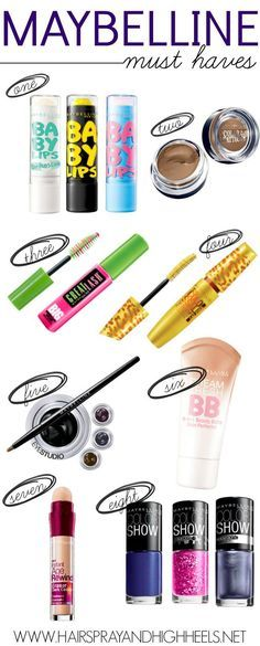 Best Maybelline Products