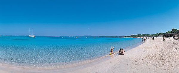 Platja des Trenc - Campos, Mallorca, Spain. Es Trenc Beach in Mallorca