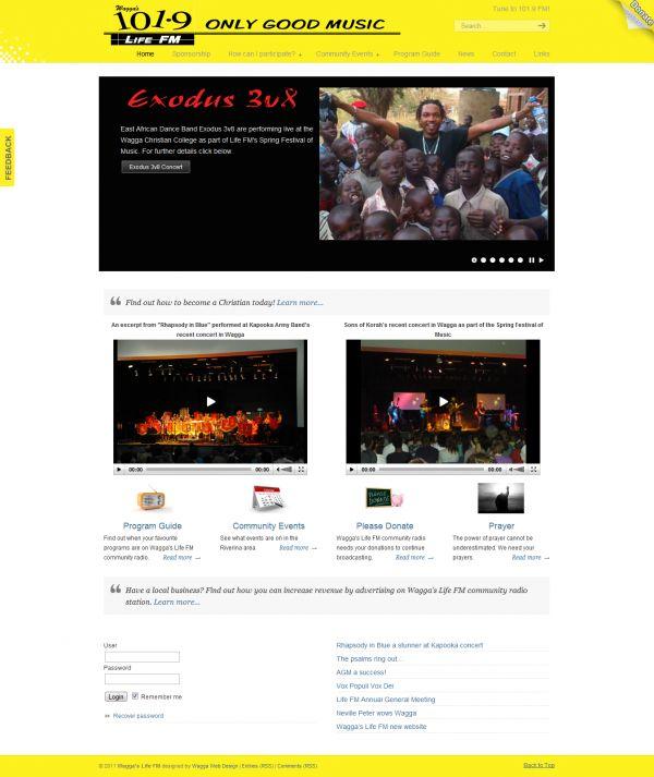 Wagga Radio http://www.waggawebdesign.com/wagga-radio/