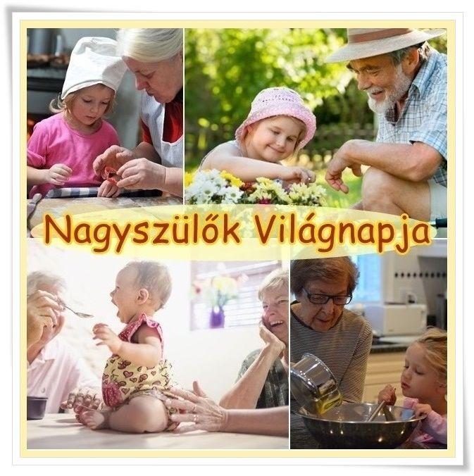 Tudtad, hogy ma van a Nagyszülők Világnapja??? Köszöntsük Őket, Nagymamit, Nagypapit nagy szeretettel! <3 Megköszönve odaadó, féltő gondoskodásukat és ,azt a mérhetetlen szeretetet és segítséget, amivel elhalmozzák az egész családot.... <3