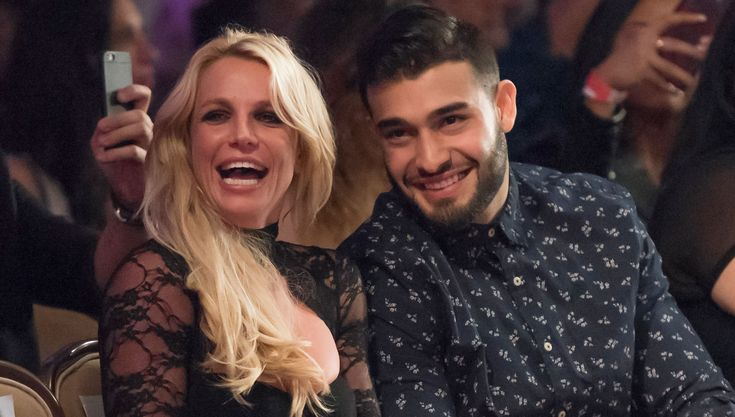 Britney Spears Joins Sam Asghari to Support His Sister at LAFW Fashion Show! | Britney Spears, Sam Asghari : Just Jared