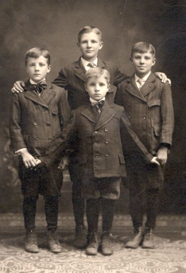 +~+~ Antique Photograph ~+~+  Proud brothers