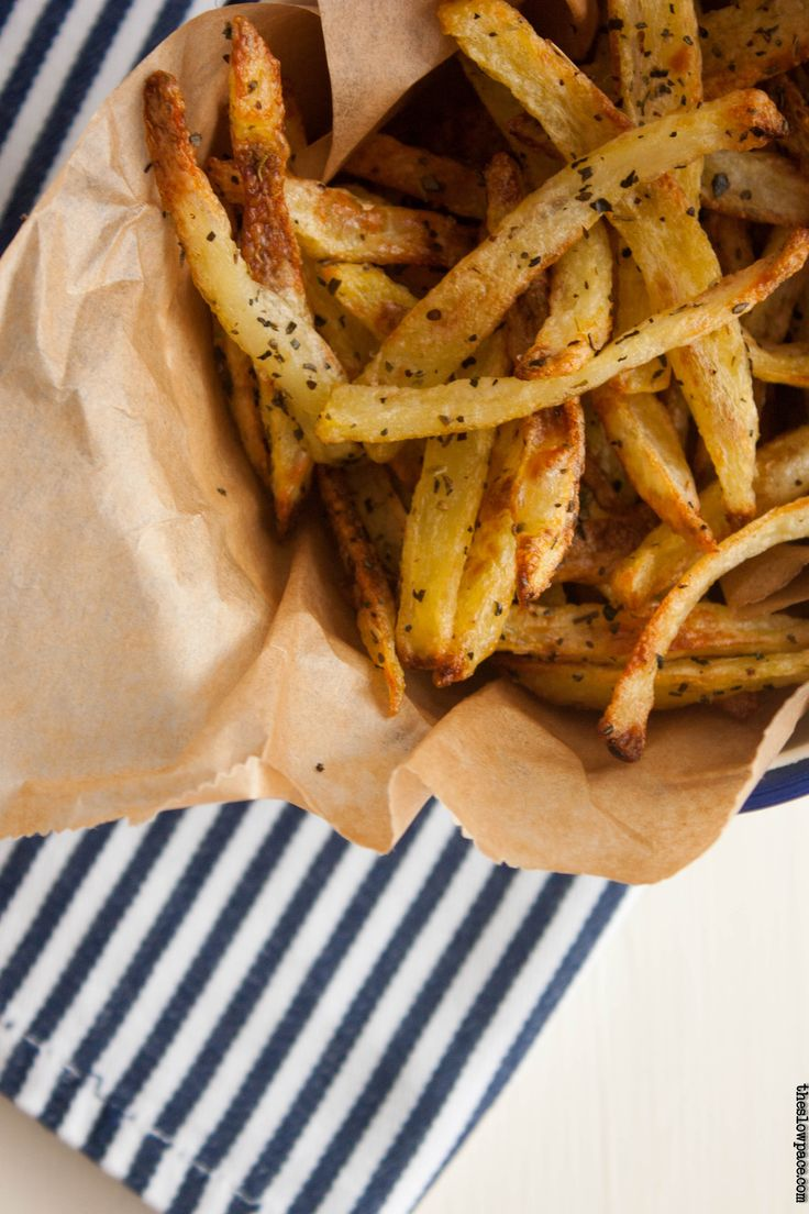 Double baked fries