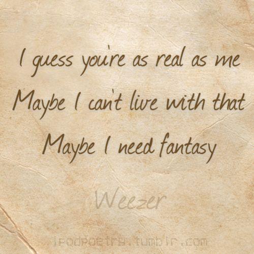 butterfly, weezer