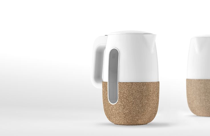 Sleeved Electric Kettle by Ayoung Park