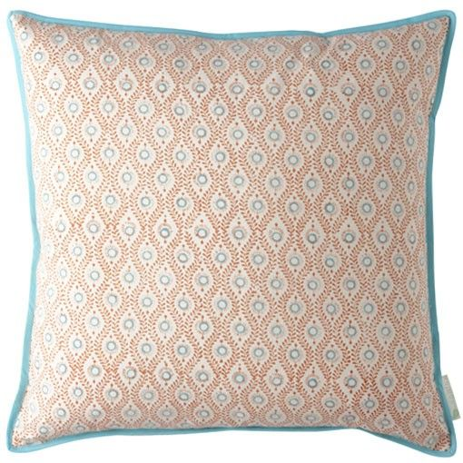 Bungalow - BLOCK-PRINT TEXTILES - lulu orange