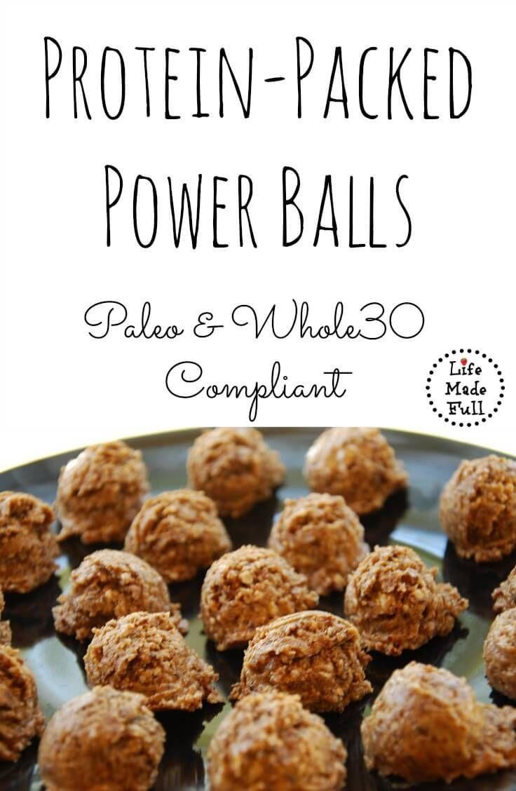 Trisha S Southern Kitchen Protein Balls