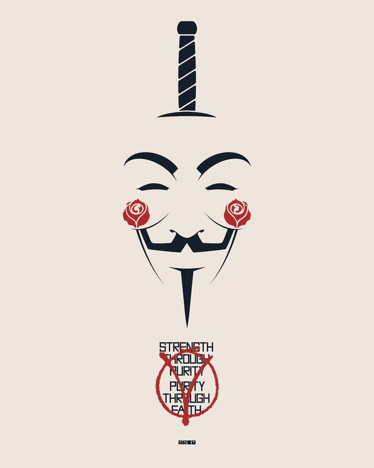"#VforVendetta  V  ""Strength through unity, unity through faith""  V for Vendetta by Matt Ferguson"