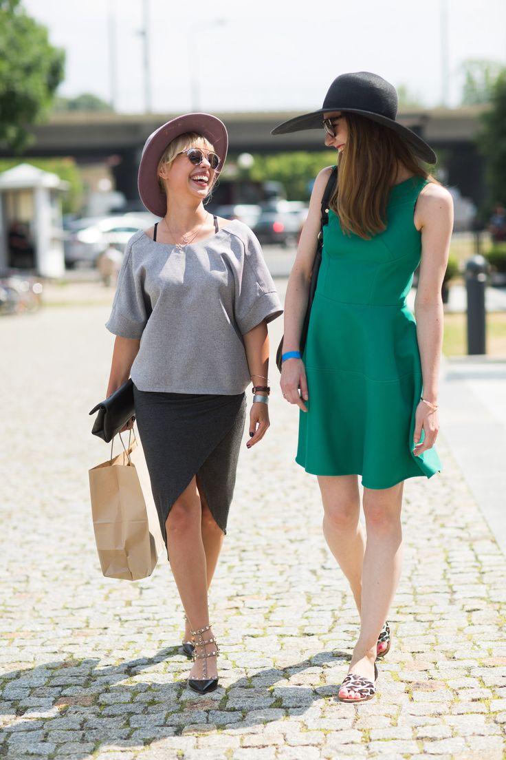 The best street style looks from 6th edition of HUSH Warsaw. photo: Szymon Brzóska Style Stalker #hush_warsaw #streetstyle #hushwarsaw #summercrush #summer #hush #polishfashion #fashionfair #polskamoda #targimody