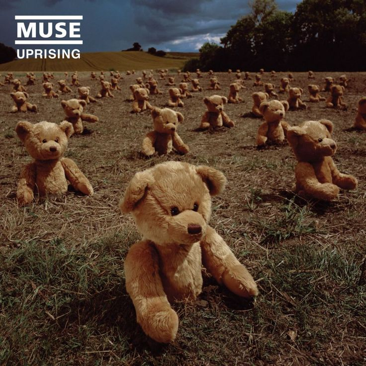 Muse cover design by Storm Thorgerson (Uprising, 2009).