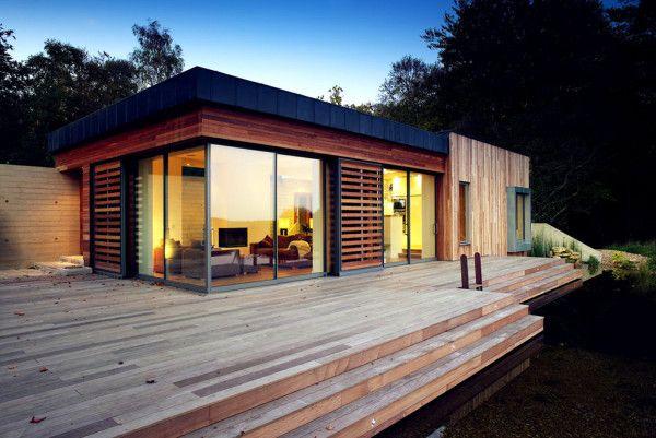 Wooden House Design form Best Retreat House Design by New Forest House in UK 600x401 Best Retreat House Design by New Forest House, in UK