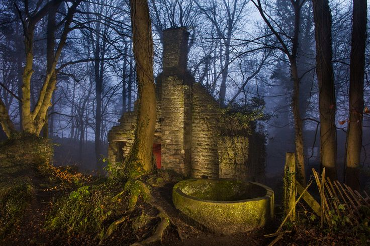 Beautiful abandoned places wallpaper