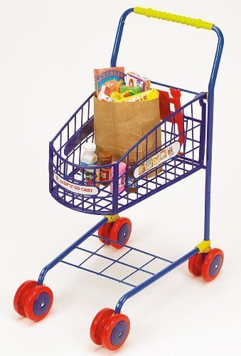 Small Toy Food : Best metal kids shopping cart images on pinterest
