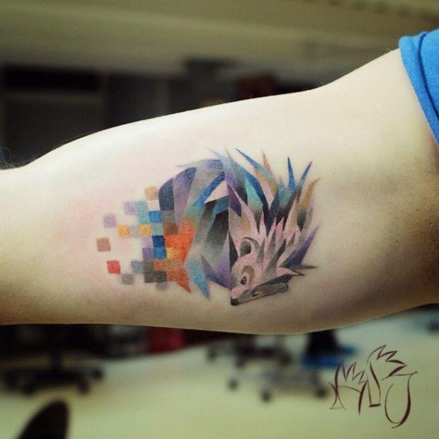 BlazePress — Artist Creates Amazing Animal Tattoos with Digital...