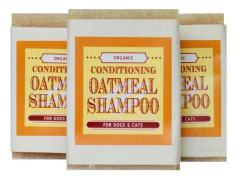 Organic Conditioning Oatmeal Shampoo Bar for Dog or Cat