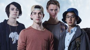 """The CBBC show """"The Nowhere Boys"""" is also based on a book."""