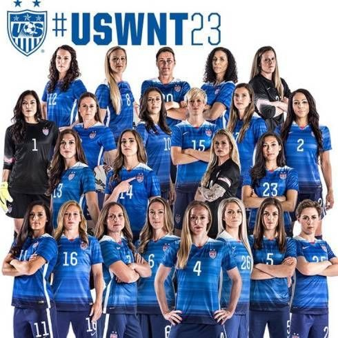 Meet the 2015 U.S. Women's World Cup National Team #USWNT #USWNT23 #WorldCup