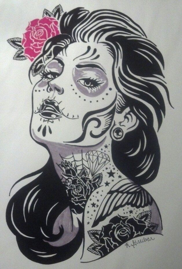 17+ images about Day of the Dead on Pinterest | Chicano ...