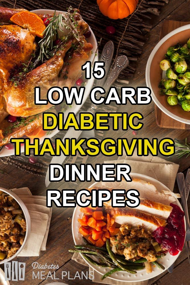 24 best diabetic recipes and helpful hints images on pinterest 15 low carb diabetic thanksgiving dinner recipes forumfinder Image collections