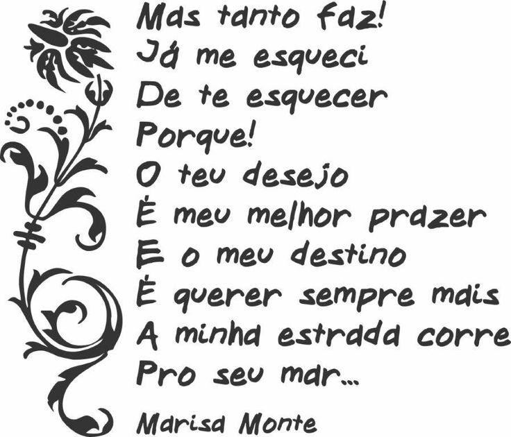 TCHÊ MUSIC.: TRECHOS DE MUSICAS- MARISA MONTE