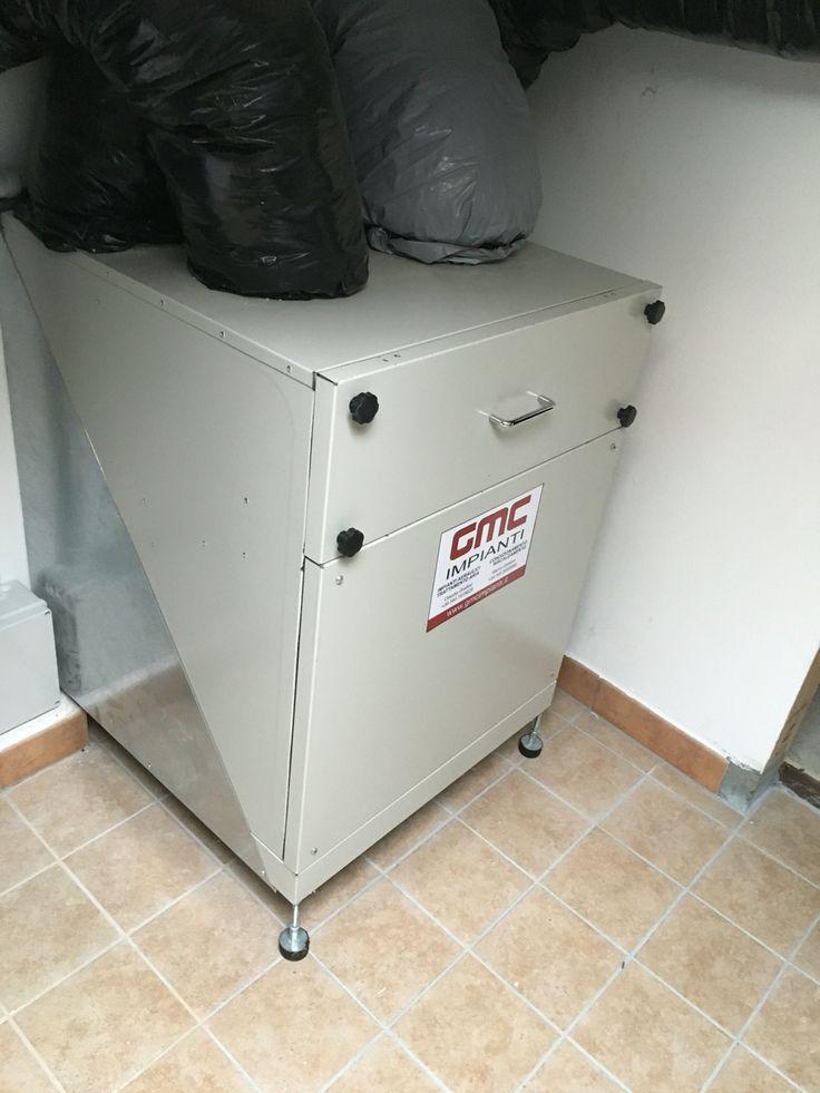 Recuperatore di calore x VMC residenziale da 400 mc/h