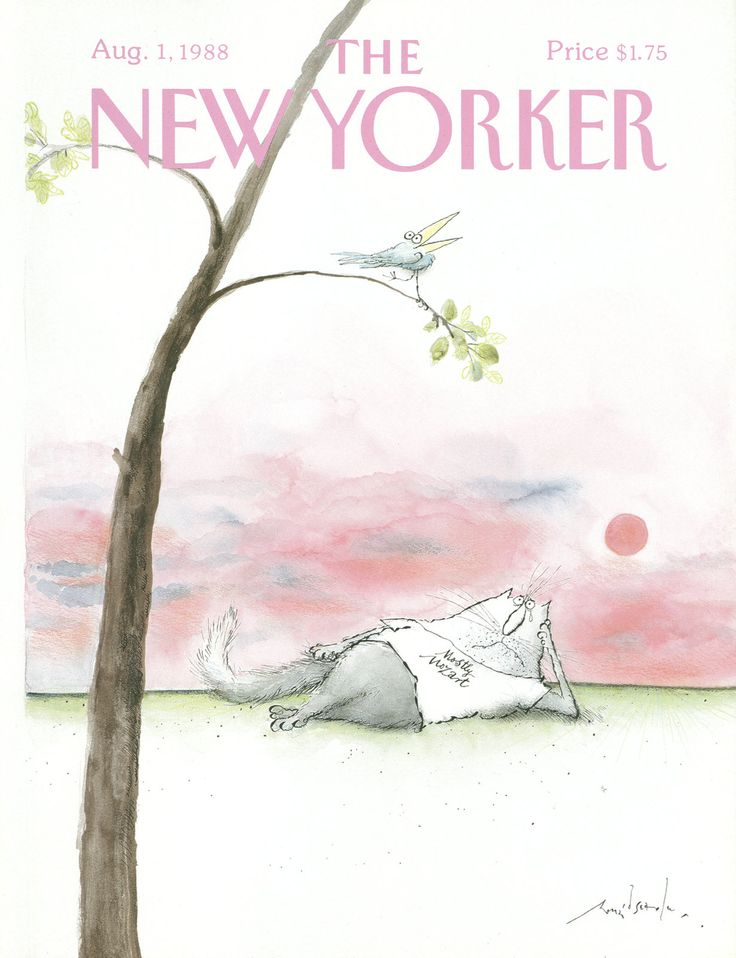The New Yorker - Monday, August 1, 1988 - Issue # 3311 - Vol. 64 - N° 24 - Cover by : Ronald Searle