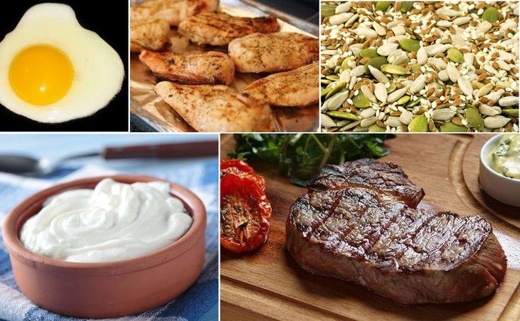 Alimentos ricos en proteínas para aumentar masa muscular  #health #salud #vidasana #musculos #proteina