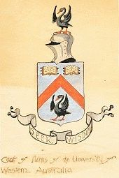 University of Western Australia Coat of Arms -