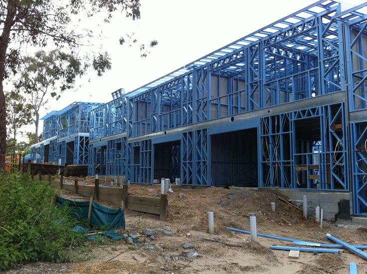 Boxspan Steel Frame Used As The Second Story Floor Frame