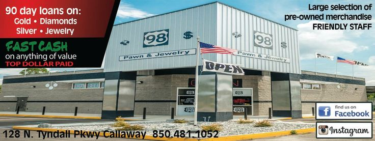 98 Pawn buys anything of value! And check out their inventory! A M A Z I N G! Mention seeing on #ChapmanMedia