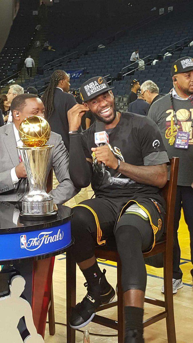 LeBron James 2016 NBA Finals MVP