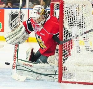 Zach Fucale played this past season for the Memorial Cup Champion Halifax Mooseheads of the QMJHL. Fucale is a very athletic, butterfly style goaltender.